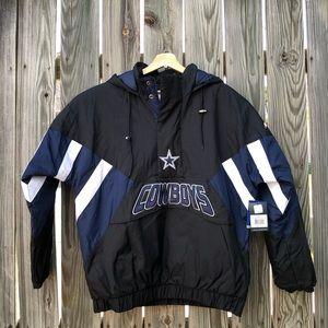 Dallas Cowboys Starter Pullover Jacket Men's XL